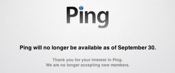 Ping desaparecerá el 30 de septiembre