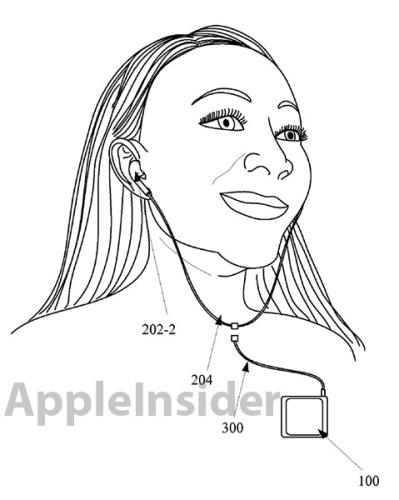 Nueva patente de Apple: auriculares inalámbricos para hacer deporte.