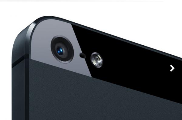 iPhone 5 cámara iSight