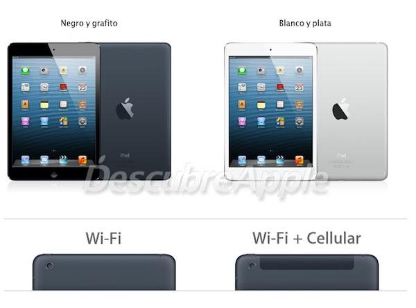 Lanzamiento del iPad mini en España