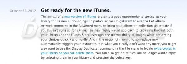 Apple confirma el lanzamiento del nuevo iTunes