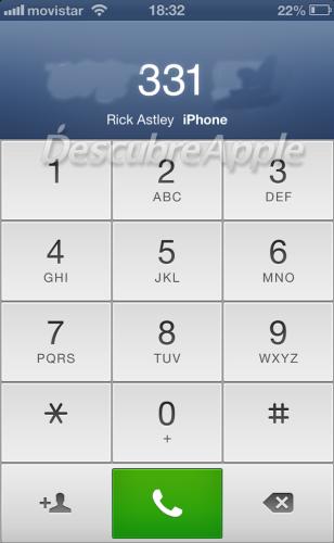Realizar rellamadas en iPhone