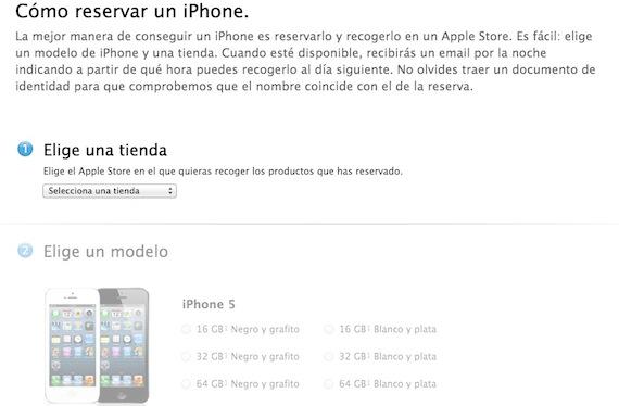 Reserva el iPhone 5