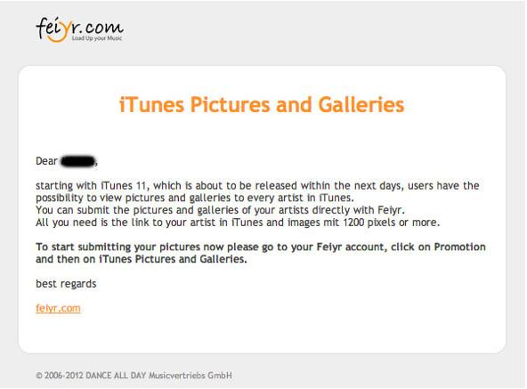 iTunes 11 llegará en los próximos días