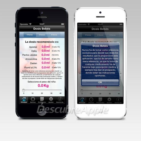 Dosis Bebés para iPhone y iPad
