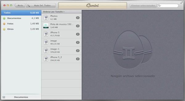 Encuentra archivos duplicados con Gemini