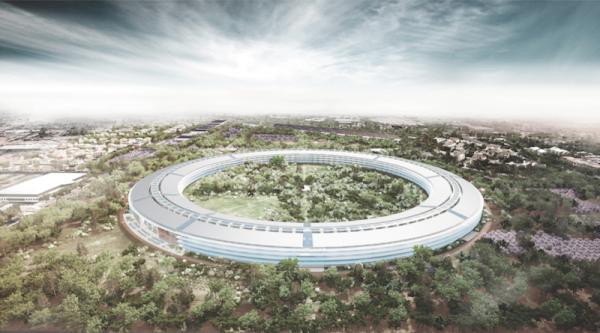 El nuevo campus de Apple llegará hasta el 2016