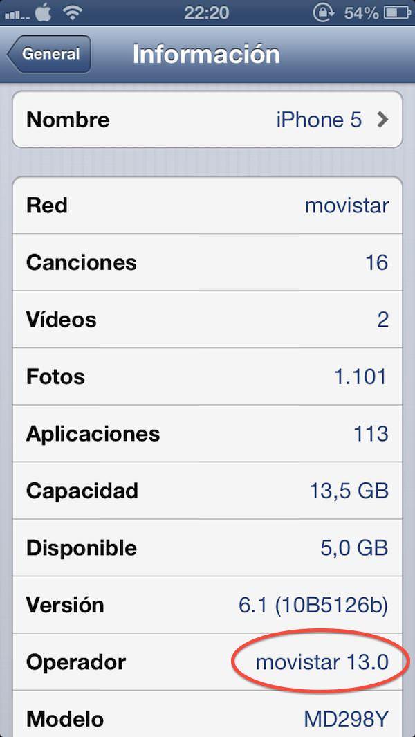 cambiar el logo del operador en el iPhone sin Jailbreak