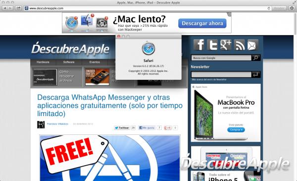 Steve Jobs deseaba que Freedom fuese el nombre de Safari
