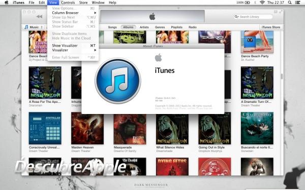 iTunes 11.0.1