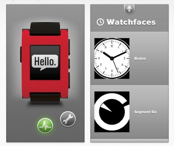 Pebble en la AppStore, justo a tiempo