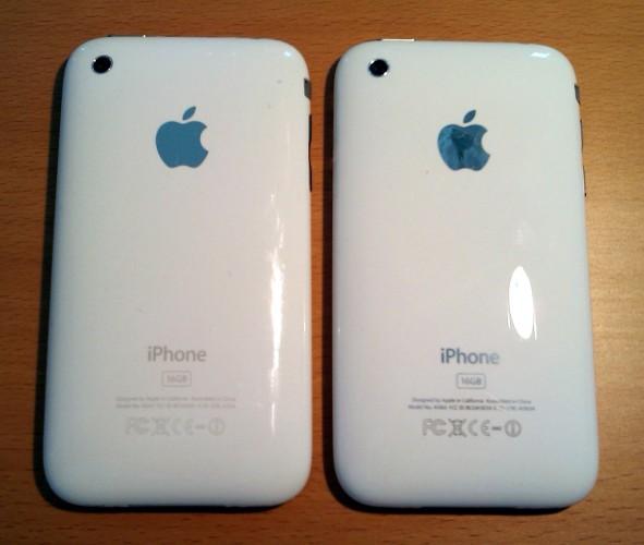 iPhone plastico