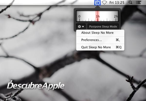 Sleep No More, o cómo mantener despierto al Mac