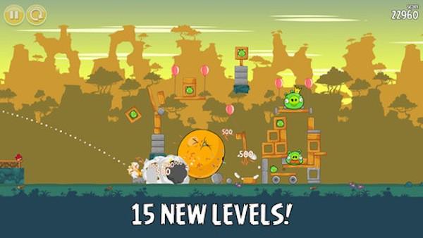 El Angry Birds original, actualizado y totalmente gratis para iOS