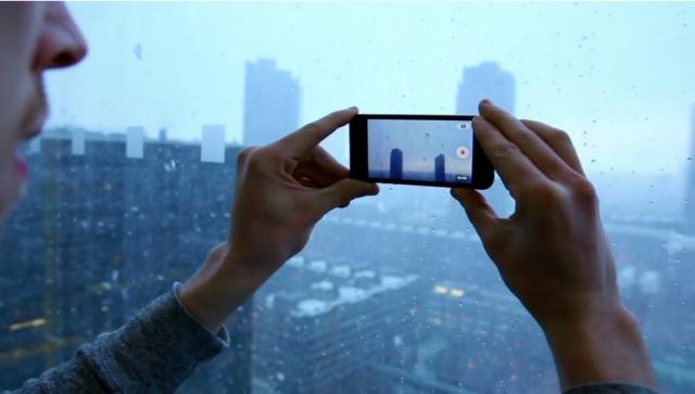 camara anuncio iPhone