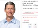 Al final, tomarte un café con Tim Cook sale por casi medio millón de Euros