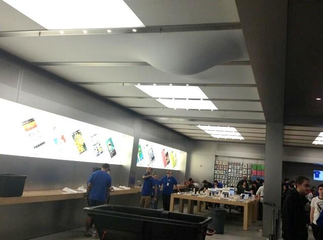humedad apple store