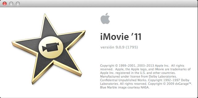 iMovie 909