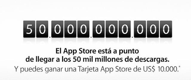 record descargas app store