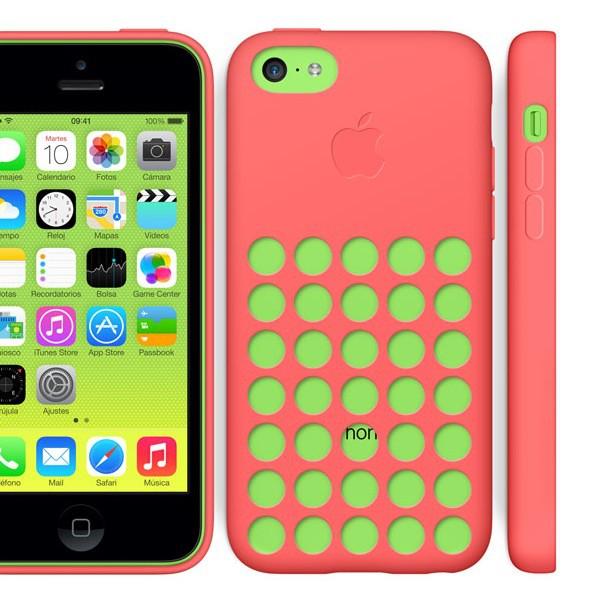 Apple vuelve a vender sus propias fundas, ahora, para iPhone 5S y iPhone 5C