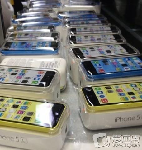 iPhones embalados