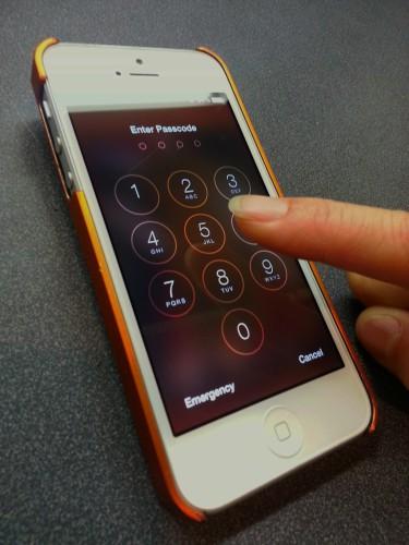 iphone passcode photo