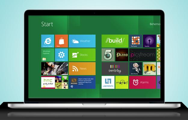 Macbook-Windows-8