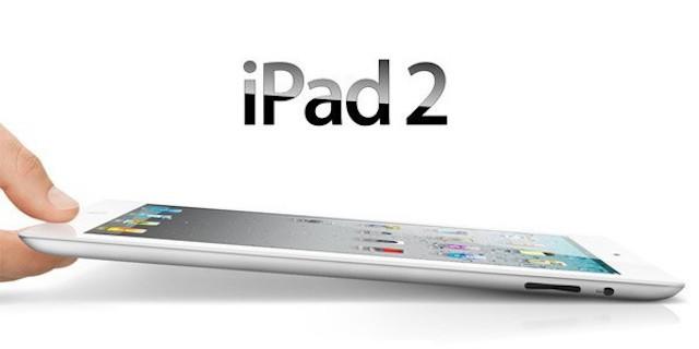 iPad 2 ahora