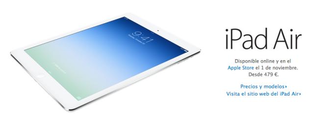 iPad Air venta