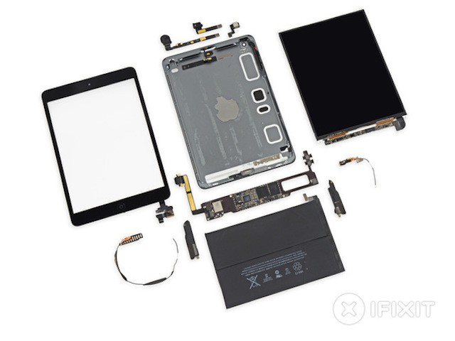 iFixit desvela los secretos del iPad mini con pantalla Retina