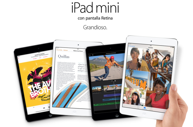 soporte iPad mini