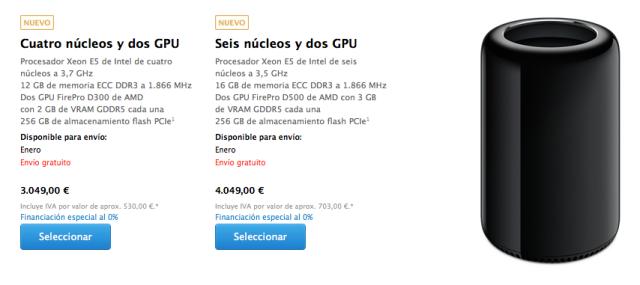 Mac Pro tienda