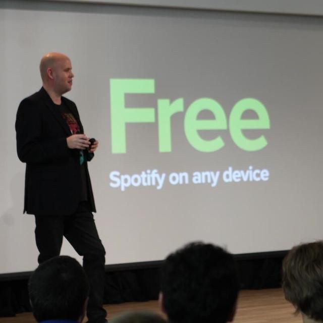 Spotify se vuelve gratis para tablets y smartphones ¿Debe preocuparse iTunes Radio?