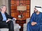La vuelta al mundo de Tim Cook: ahora en los Emiratos Árabes Unidos