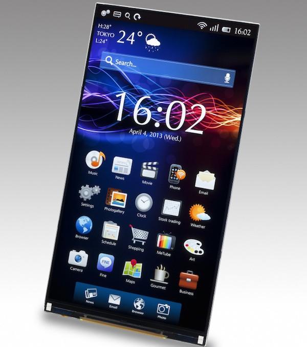 ¿Podría ser esta la pantalla del iPhone 6?