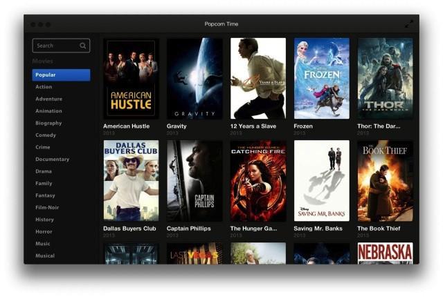 Popcorn Time cierra. Adiós al streaming de vídeos vía BitTorrent