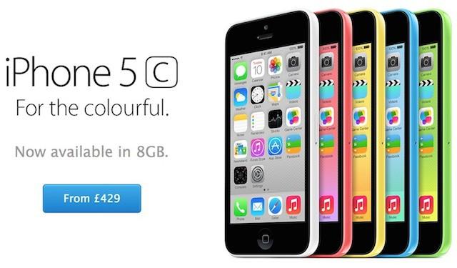 iPhone5c8Gb