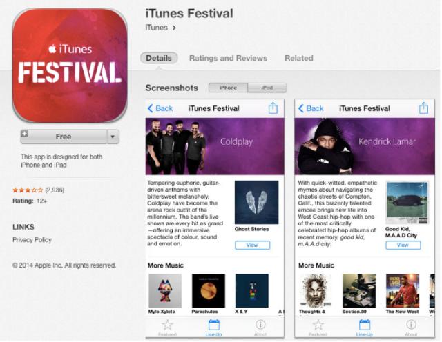 iTunes SWSX
