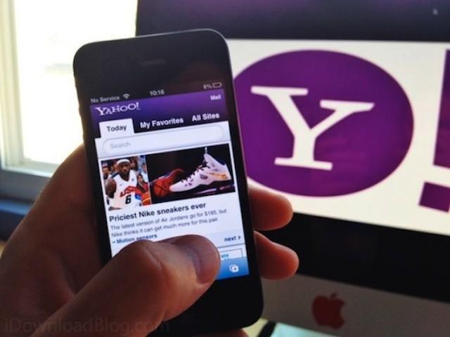 Yahoo busca desesperadamente ser el motor de búsqueda por defecto en iOS