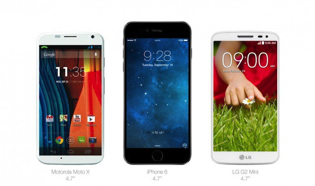 iPhone6Comparation