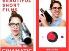 Cinamatic: crea vídeos con filtros para compartir en las redes sociales