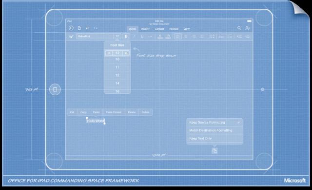 Un vistazo a todos los secretos tras el diseño de Office para iPad