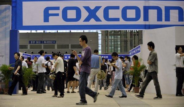 Foxconn podría perder a Apple como cliente