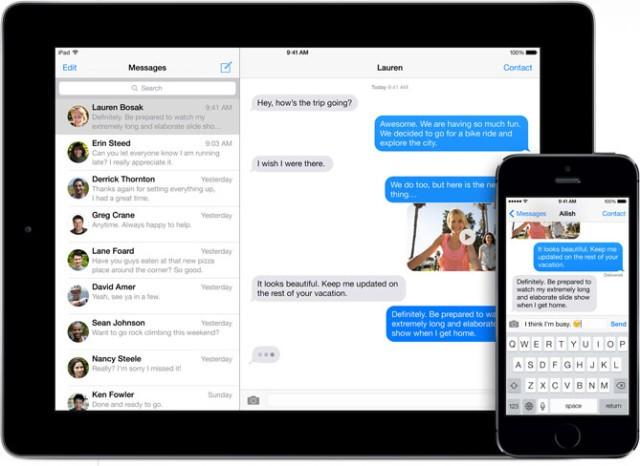La actualización iOS 7.1.2 traería la solución para los problemas de iMessage