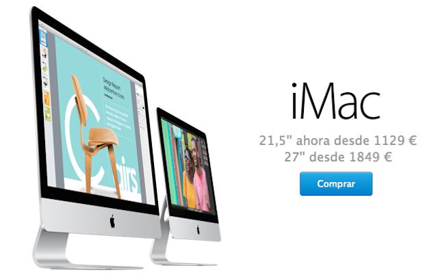 Nuevo iMac 21
