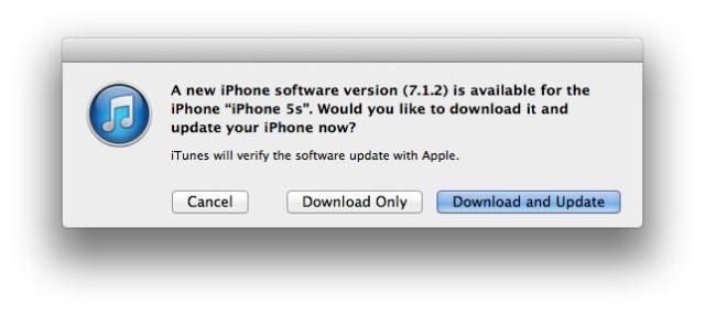 Ya está aquí iOS 7.1.2, con mejoras en Mail, iBeacon y más