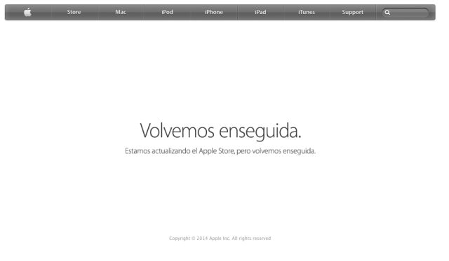 Apple Store cerrada