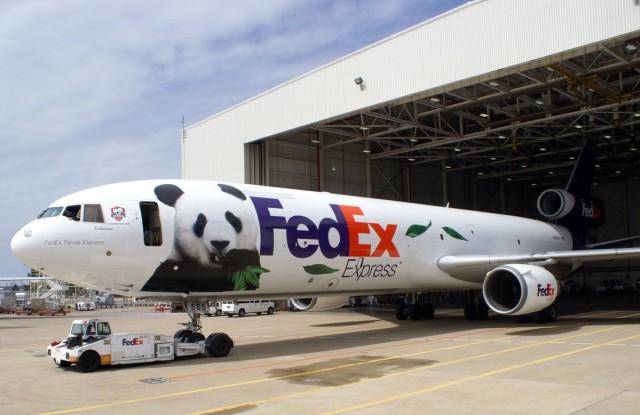 FedEx pandas