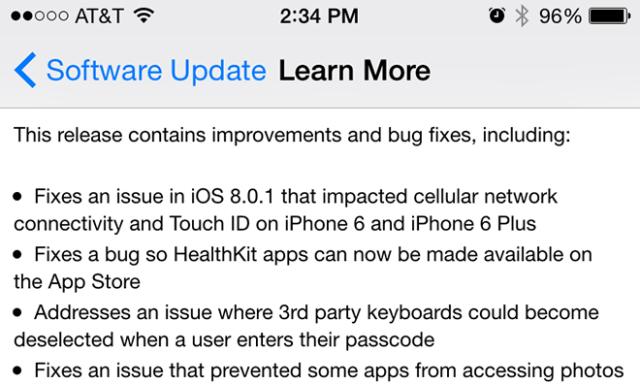 iOS 802