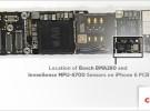 El iPhone 6 y el iPhone 6 Plus cuentan con dos acelerómetros independientes